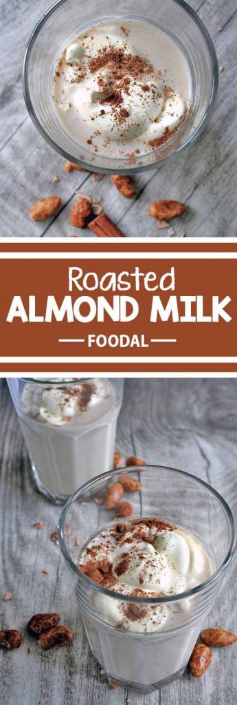 Roasted almonds are a beloved wintertime treat. With their crunchy and sugary skin they make a yummy snack. Did you know that you can turn them into a delicious drink, too? Try this easy recipe for festive flavor in a mug. Read more now on Foodal.