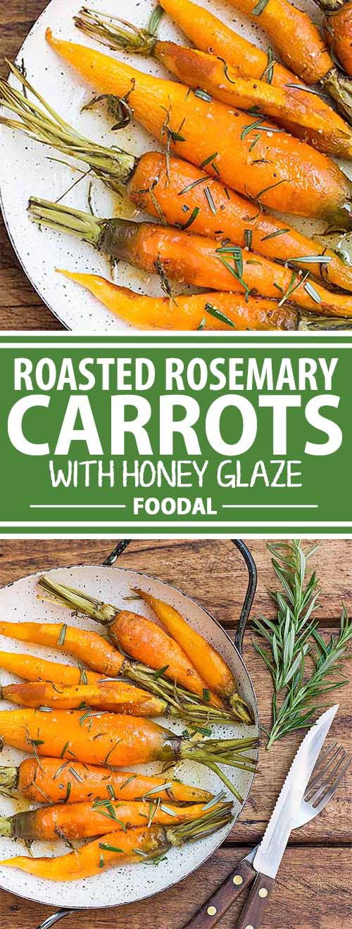 When guests are coming over for dinner, it's always good to have a simple but impressive side dish recipe on hand. These roasted rosemary carrots with honey glaze make the perfect side to your protein mains! Plus, they taste amazing but they're ridiculously easy to make! Get the recipe now on Foodal.