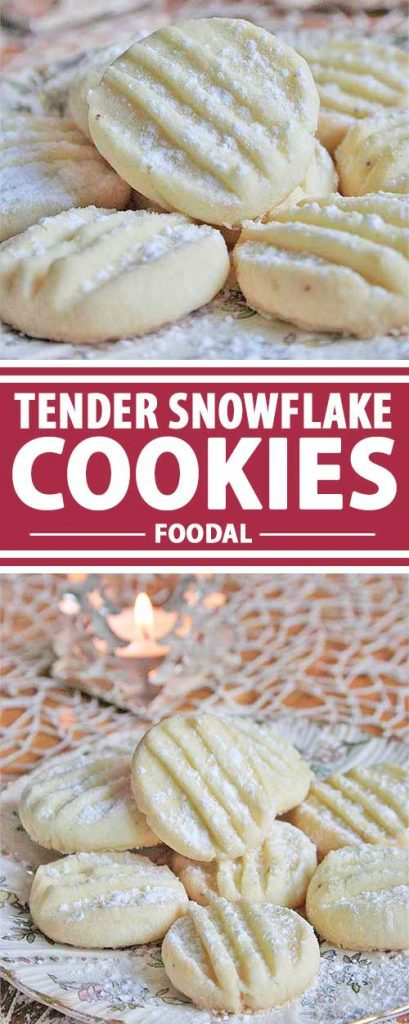Christmas and cookies go hand in hand. Try this tender variety that will melt in your mouth like snowflakes on your tongue. These sweet treats will be nibbled away as quickly they are prepared! Read more on Foodal.