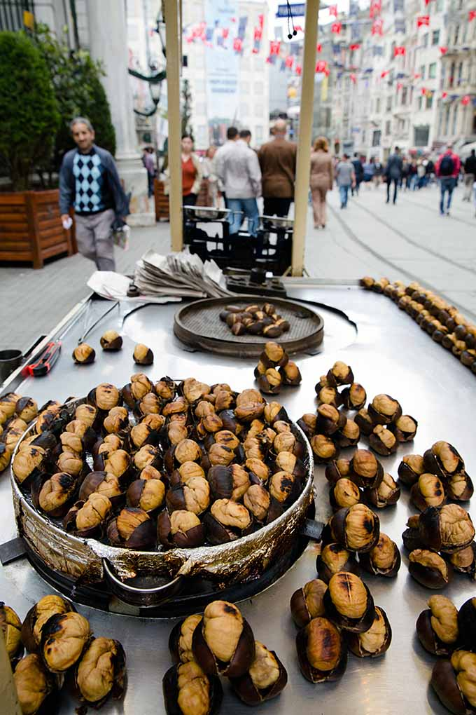 Roasted chestnuts are far more popular beyond their appearance in one of our favorite holiday songs. They're also a cosmopolitan culinary sensation, enjoyed by many cultures all around the world! Read about them here: https://foodal.com/holidays/christmas/roasted-chestnuts-a-globally-beloved-winter-treat