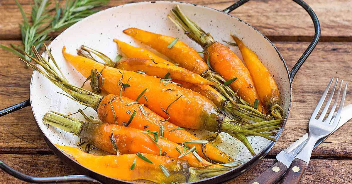 Roasted Rosemary Carrots with Honey Glaze | Foodal