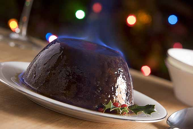 Flambéd Figgy Pudding | Foodal.com