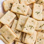 Homemade Crackers with Rosemary and Parmesan Cheese | Foodal.com