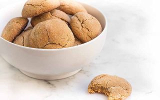 Gluten-Free Holiday Baking: Soft Ginger Cookies