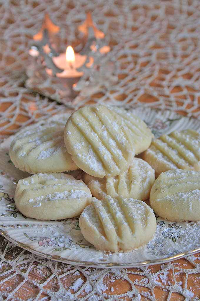 Make a batch of Snowflake Christmas cookies. Or make two- these won't last! Get the recipe: https://foodal.com/recipes/desserts/tender-snowflake-cookies/