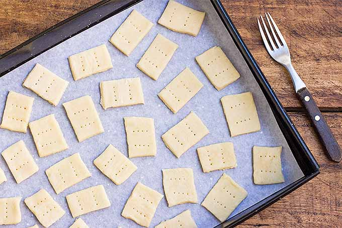 How to Make Parmesan Crackers | Foodal.com