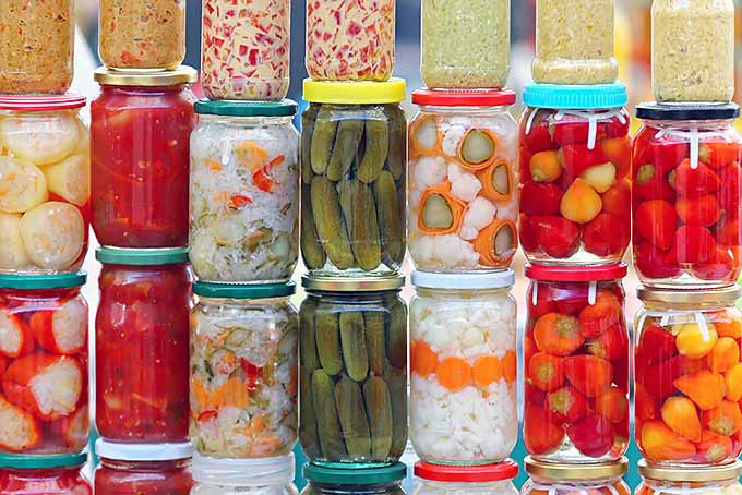 Jars of Raw Vinegar Pickles | Foodal.com