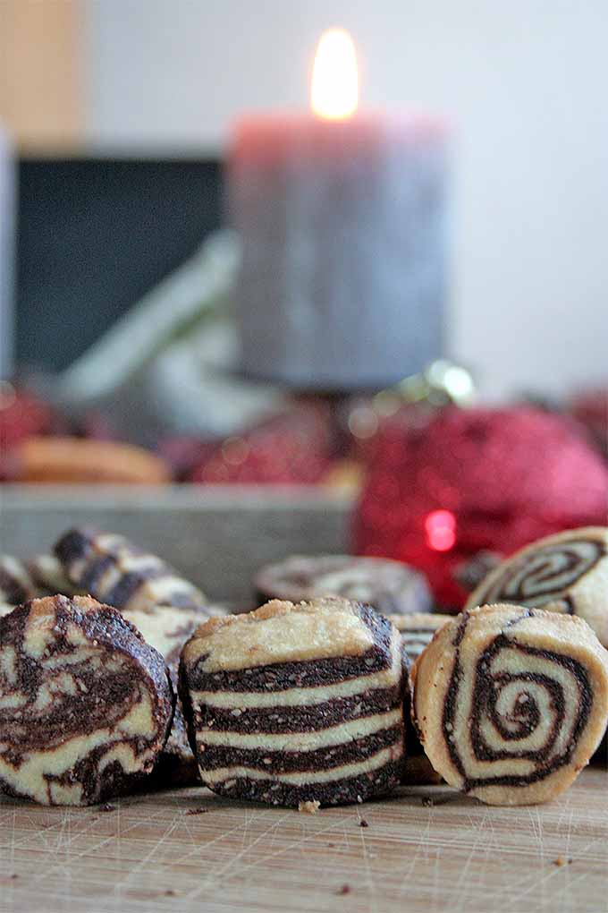 Love Black and White Cookies? Make a batch at home this holiday season! We share the recipe: https://foodal.com/recipes/desserts/black-and-white-cookies/