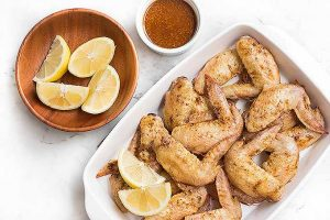Irresistible Moroccan Lemon Wings