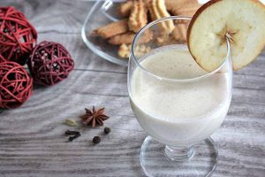 Wintry Spiced Baked Apple Smoothie: for Breakfast or Dessert