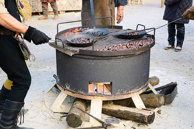 Roasting Chestnuts Large Batch | Foodal.com