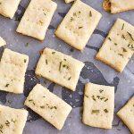 Parmesan Rosemary Crackers Recipe | Foodal.com