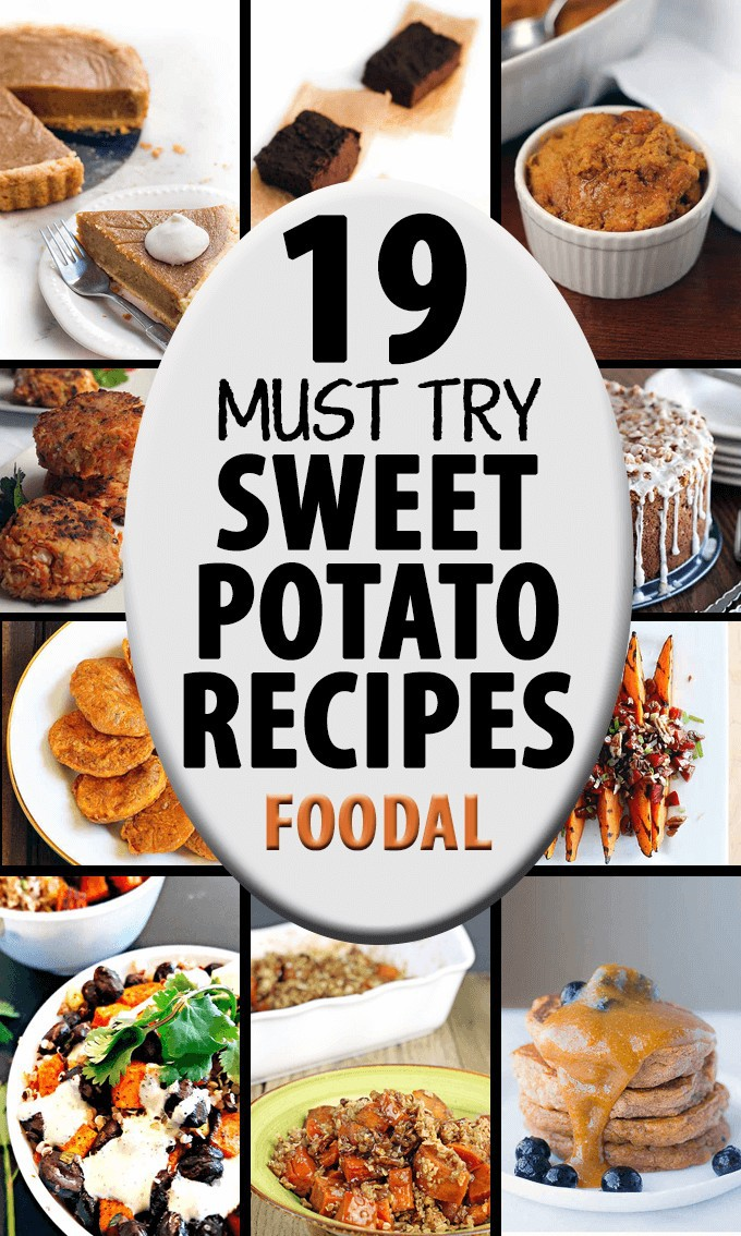 Sweet potatoes contain a vast amount of nutrients and vitamins. But are you stuck on how to prepare these beneficial tubers? Check out these creative ideas! Get the recipes now: https://foodal.com/knowledge/paleo/must-try-sweet-potato-recipes/