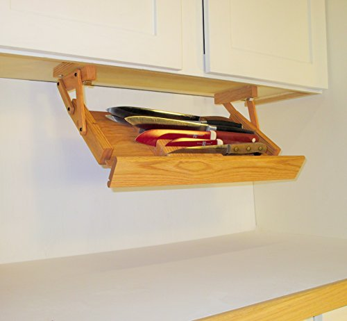 Ultimate Kitchen Storage Under Cabinet Mounted Knife Rack
