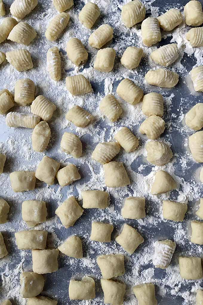 Traditional Italian Gnocchi. Do you love it? Love to cook? Well make your own with a super easy-to-follow recipe. Get it now: https://foodal.com/recipes/pasta/potato-gnocchi/