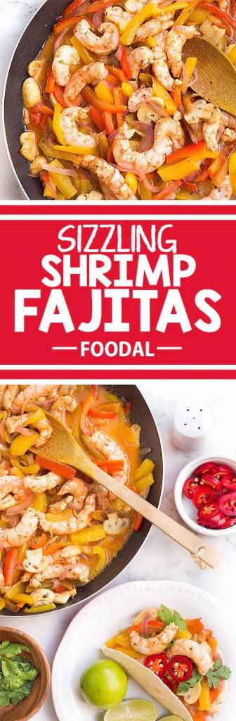 If you love spicy Mexican food, then you'll absolutely enjoy these amazing shrimp fajitas. They're a cinch to make, taste like you've worked on them all day, and look fantastic. These colorful and flavorful fajitas are the perfect dish to serve and impress your guests! Get the recipe from Foodal today!
