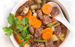 Simple One-Pot Savory Beef Stew