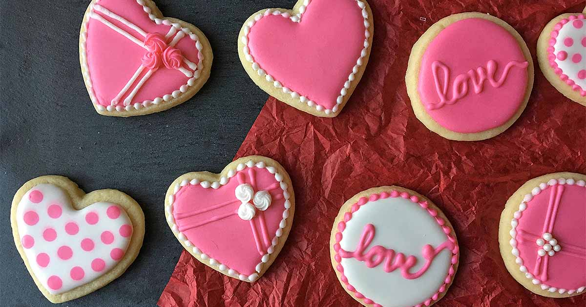 The Cutest Cookie Decorating Tips For Valentine S Day Foodal
