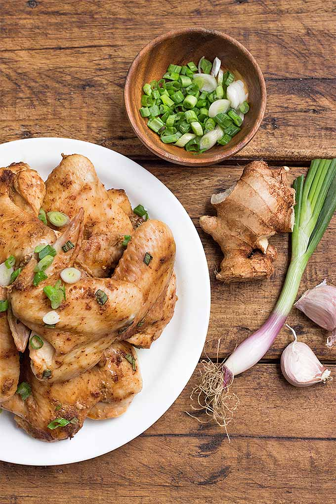 Want to make a batch of these delectable, simple, and spicy chicken wings at home? Of course you do! Get the recipe: https://foodal.com/recipes/poultry/simple-spicy-wings/