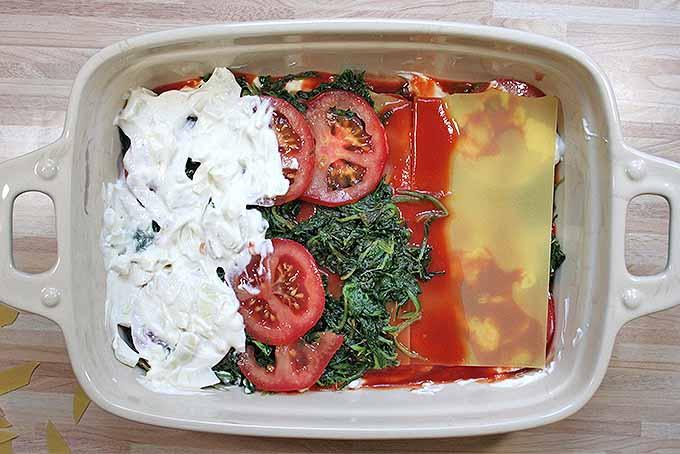 Homemade Meatless Spinach Lasagna | Foodal.com