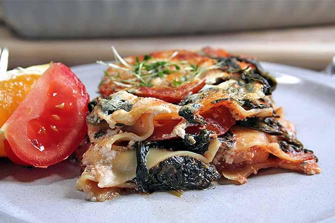 Vegetarian Spinach Lasagna | Foodal.com