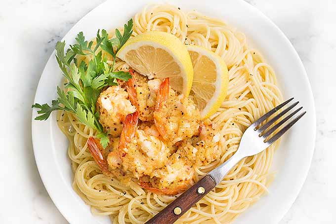 Serve this delicious shrimp scampi over pasta to impress your guests. | Foodal.com
