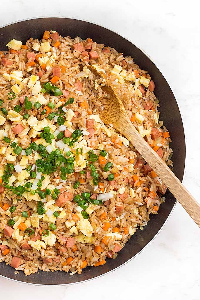 What's for dinner tonight? Try our recipe for homemade sausage fried rice: https://foodal.com/recipes/chinese/easy-sausage-fried-rice/