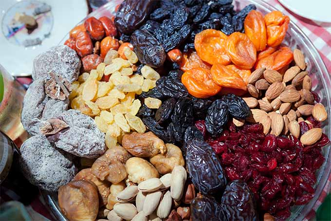 Raw dehydrated fruits and nuts | Foodal.com