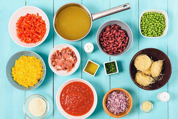 Flexitarian healthy ingredients mis en place | Foodal.com