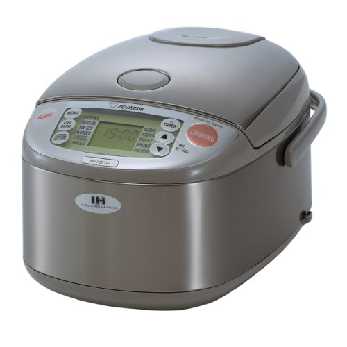 311a3505f Zojirushi NP-HBC10 5-1 2-Cup (Uncooked) Rice Cooker and Warmer with  Induction Heating System