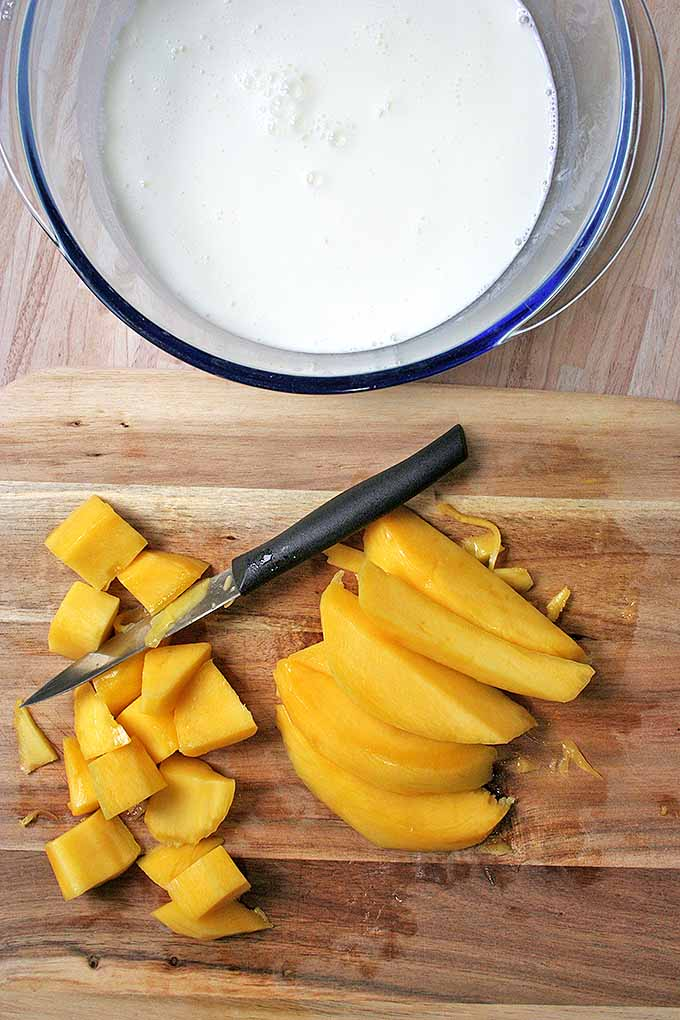 Love mango? Try it in our cool and creamy mango lassi shake. Get the recipe now: https://foodal.com/drinks-2/smoothies/indian-lassi/