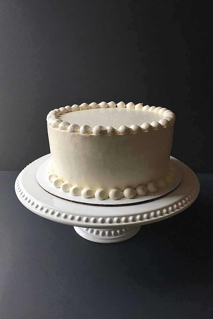 If you want to learn how to decorate a perfect cake, read our guide: https://foodal.com/knowledge/baking/basic-cake-decorating/