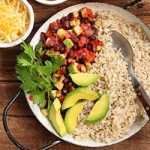 A delicious and healthy dinner idea: hearty vegetarian burrito bowls | Foodal.com