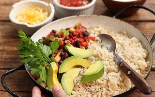 Hearty and Flavorful Vegetarian Burrito Bowl
