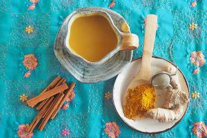 Krishna's Golden Turmeric Tea