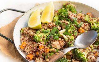 Protein-Rich Lemon Chicken Quinoa Bowls