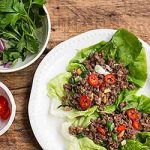 Spicy ground beef lettuce wraps are a tasty handheld meal for you to try for a quick dinner tonight. | Foodal.com