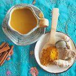 Make turmeric tea for a warming pick-me-up.   Foodal.com
