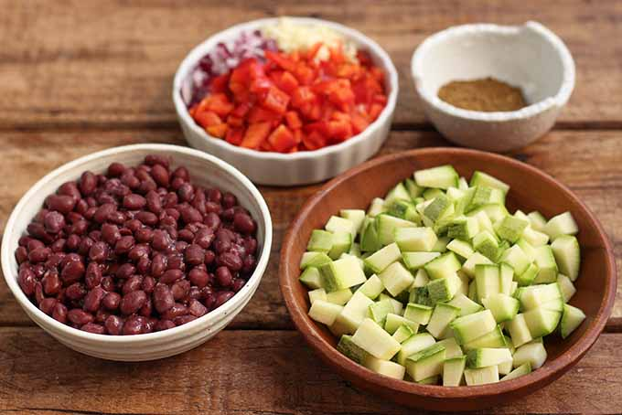 Use your favorite veggies to create a hearty vegetarian burrito bowl. | Foodal.com