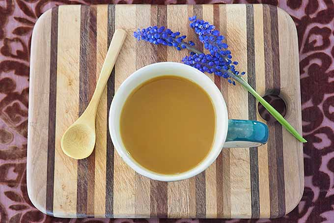 A cup of antioxidant-rich turmeric tea. | Foodal.com