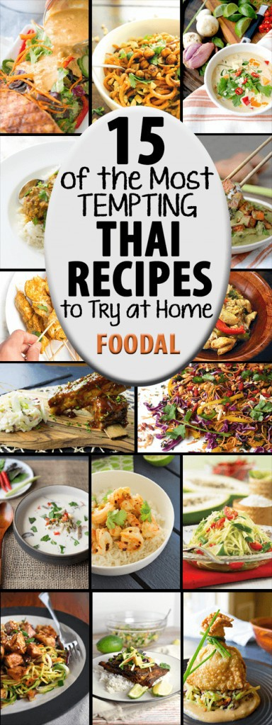 With its luscious layering of flavors, fresh ingredients, and tasty sauces, Thai food is hard to resist. For your cooking enjoyment, we've gathered 15 of the best recipes from cooking sites around the web and present them all right here in one place. Jump in and join the fun!