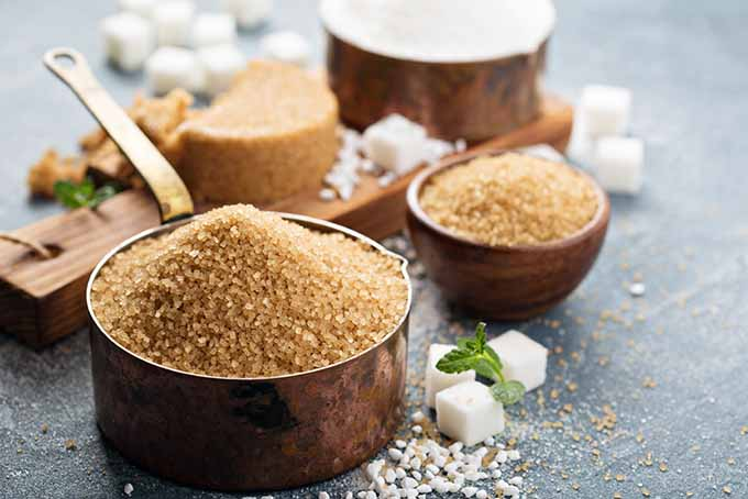 Raw sugar provides deep, complex flavor from molasses. | Foodal.com