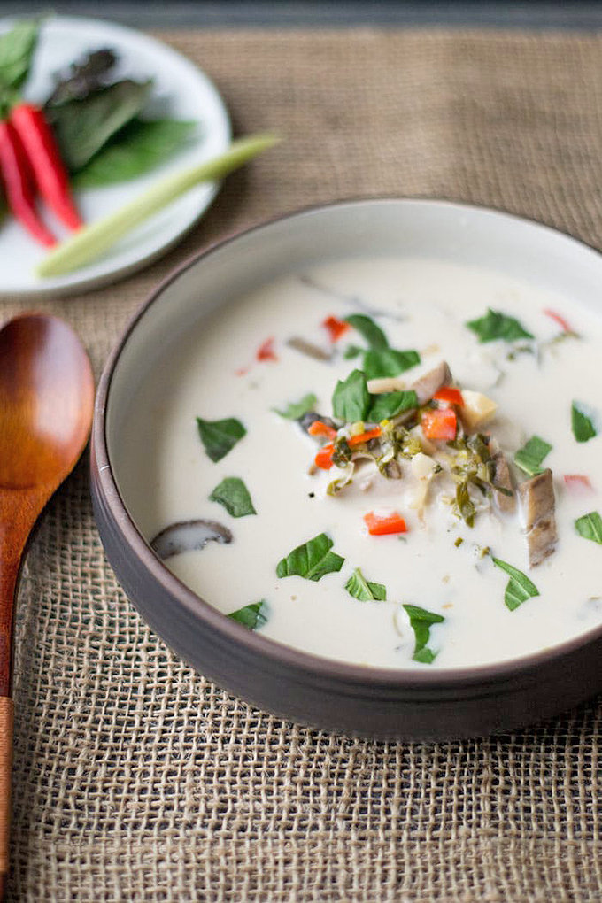 Do you enjoy Thai cuisine? We share a round up of the best Thai dishes to make at home, including this delicious coconut chicken soup: https://foodal.com/knowledge/paleo/thai-recipe-roundup/