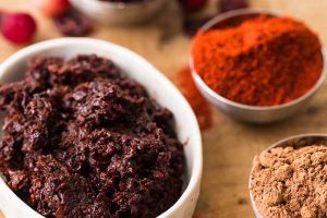 "Slather Your Sandwiches with This Spicy Chocolate-Cranberry Mole from ""Fiery Ferments"""
