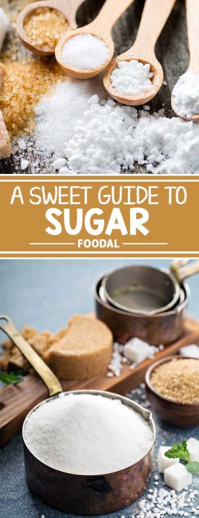 Granulated, powdered, caster, turbinado, brown, sanding: there are lots of different types of sugar, and the list goes on! Avoid the insane sugar crash and look to Foodal for the best guide to understanding the most popular varieties. Find out exactly what each type is, and how you can use each one for your own cooking and baking needs. Read our article now!