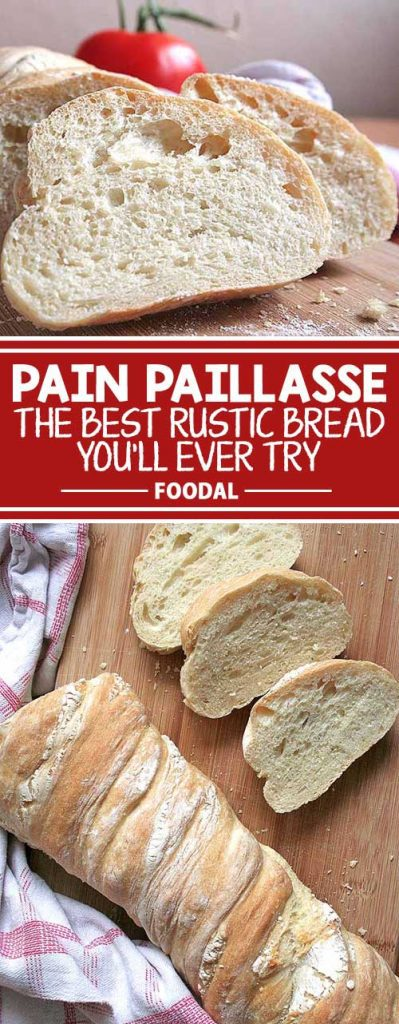 Looking for a new take on an artisan bread? Try this super moist and delicious Pain Paillasse recipe based on the breads sold by exclusive European bakeries. It is so easy to make, and the long fermentation time is an extra special step to develop the best flavor and a great crust. Get the recipe now on Foodal!