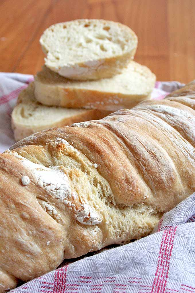 Learn how to make pain paillasse, a rustic bread that gets its amazing flavor from a long fermentation time. We share our recipe: https://foodal.com/recipes/breads/pain-paillasse-the-best-rustic-bread-youll-ever-try/