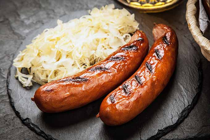 Sauerkraut is a gut-healthy condiment that is perfect on any hot dog. | Foodal.com