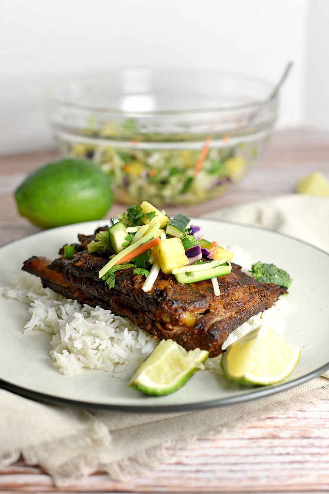 These Slow Cooker Turmeric Pork Ribs are tender and full of lively, spicy flavors! Get more amazing Thai-inspired dishes by checking out our round up of 15 recipes now: https://foodal.com/knowledge/paleo/thai-recipe-roundup/