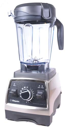 Vitamix Professional 750 White Background - Oblique View
